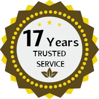 14 Years Trusted Service